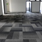 balance atomic carpet tiles at Institute National Remembrance in Poland