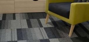 balance atomic carpet tile at Student Accommodation