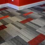 balance atomic, lateral, zip & code carpet tiles