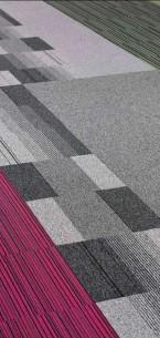 balance atomic, balance & strands carpet tiles at Royal Infirmary in Glasgow