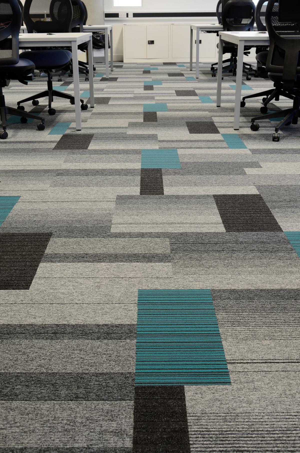 Bradford College Balance Atomic Lateral Carpet Tiles