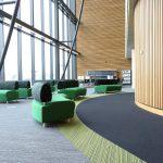 Bradford College tandem, strands carpet tiles