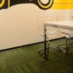 code carpet tiles at Amartus Offices Poland