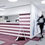 cordiale carpet tiles at Breakthrough Cancer Trust