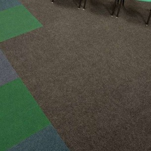 academy carpet tiles at Thornhill School