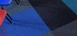 cordiale carpet tiles at Thornhill School