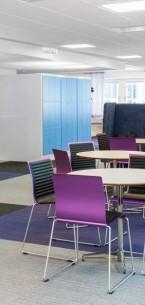 lateral® carpet tiles at Microsoft Sweden