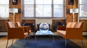 lateral® & zip carpet tiles at Nowy Styl