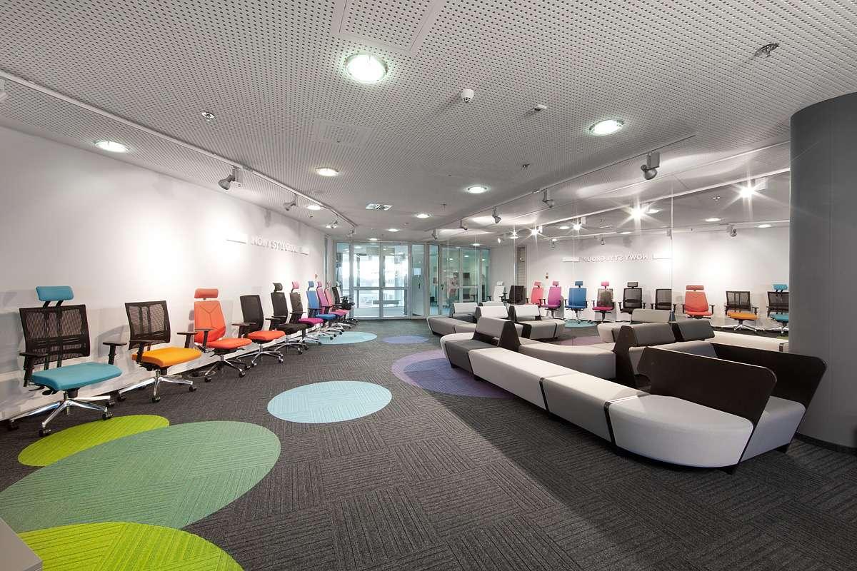Burmatex 174 Carpet Tiles Fit International Chain Of Showrooms