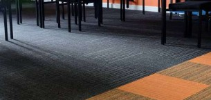 code & lateral® carpet tiles at Boston College