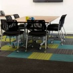 strands & origin carpet tiles at Advanced Tapes Leicester