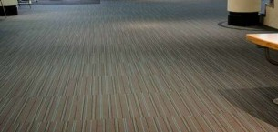 strands carpet tiles at Rothes Halls in Glenrothes