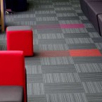 strands carpet tiles at Wyggeston QE College Leicester