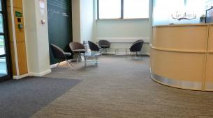 tandem carpet tiles at Carlsberg UK