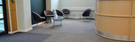 tandem carpet tiles at Carlsberg Leeds