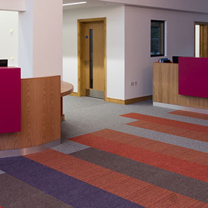 Tivoli Low Level Loop Contract Carpet Tiles Burmatex