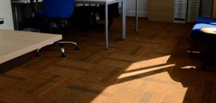 lateral® & zip carpet tiles at Portslade Academy