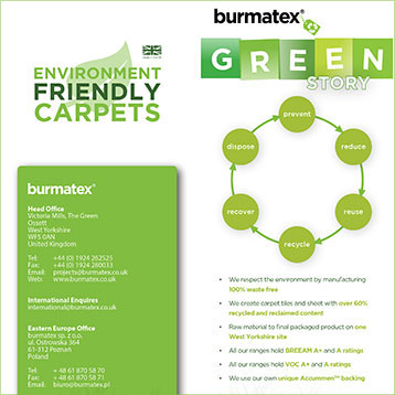 burmatex environmental leaflet cover