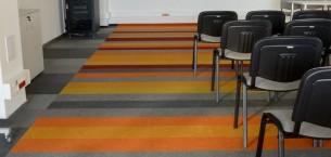 cordiale fibre bonded carpet tiles