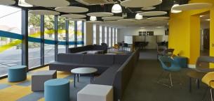 Hartsdown Academy, cordiale, lateral® carpet tiles