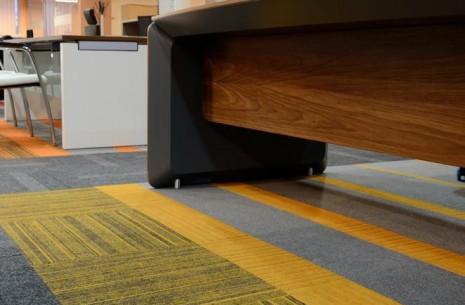 Biuro Perfect Showroom, structure bonded carpet tiles