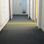 textured loop pile carpet tiles at InOffice, Warsaw