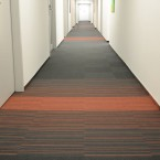 textured loop pile carpet tiles at InOffice, Warsaw
