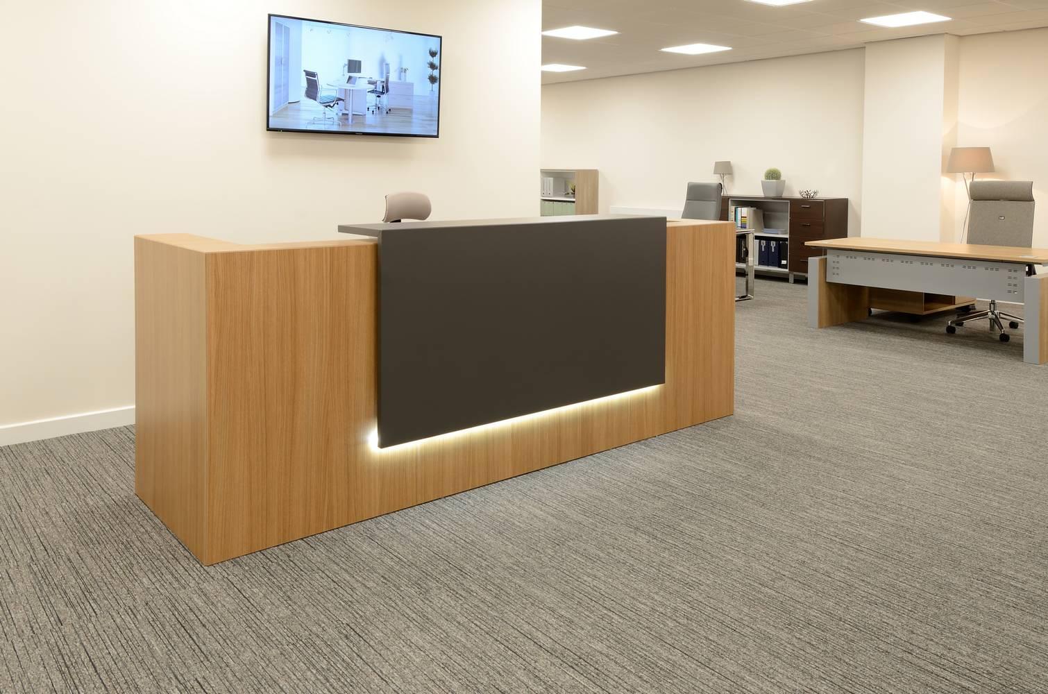 Quality Office Furniture Showroom Uses Burmatex® Tandem