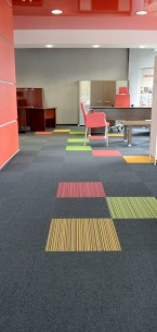 balance, lateral® & strands carpet tiles - Mikomax