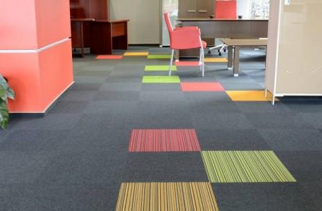 balance, lateral® & strands carpet tiles - Mikomax