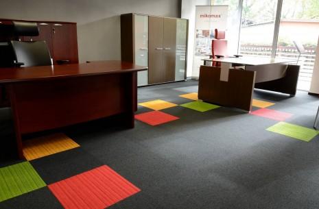 balance, & lateral® carpet tiles - Mikomax