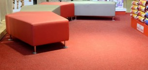 velour excel carpet tiles - pet shop