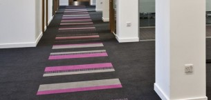 strands & origin carpet tiles - Scottish Crime Campus