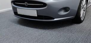 tivoli carpet tiles, jaguar car garage
