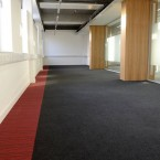 strands & origin carpet tiles at University of Strathclyde in Glasgow