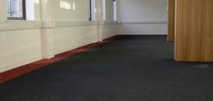 strands & origin carpet tiles at University of Strathclyde in Glasgow