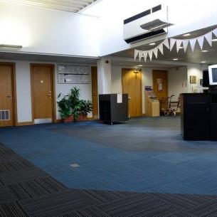 Wester Hailes Library Edinburgh - strands carpet tiles