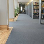 Medical University Library Poznan, fibre bonded sheet