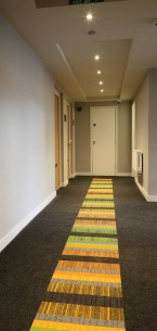 armour & structure bonded carpet tiles in apartments