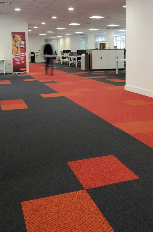 Get On Board With Our Carpet Tiles At Virgin Trains