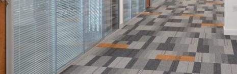balance atomic carpet tiles at Rotterdam House Newcastle