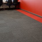 lateral carpet tiles at Solihull College