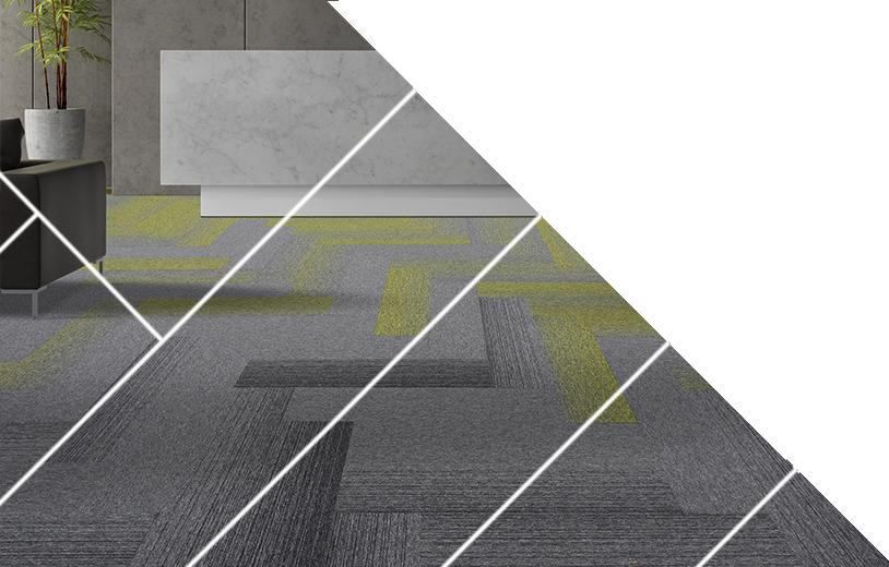 Carpet planks from burmatex UK leading carpet manufacturer