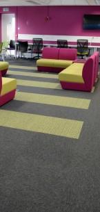 tivoli carpet tiles from burmatex at Loughborough University