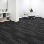 hadron titanium carpet tiles