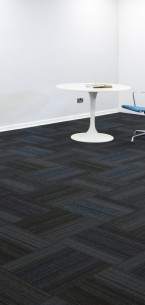 hadron cerulean & electric carpet tiles
