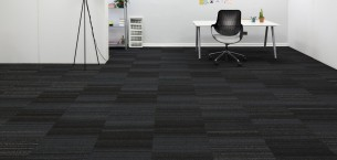 hadron sparkler, arctic-& ash carpet tiles