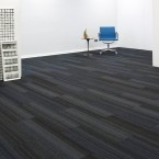 hadron electric & cerulean carpet tiles