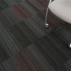 hadron violet & flamingo carpet tiles
