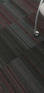 hadron violet & flamingo carpet tiles